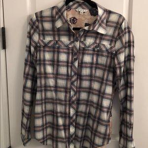 Cabi plaid shirt